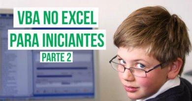 Dicas de VBA no Excel para iniciantes
