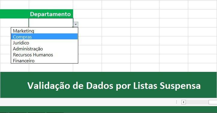 Validação de dados no Excel