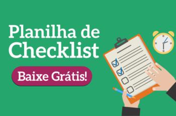 Conheça a planilha de checklist