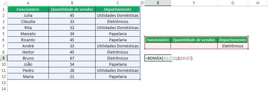 BDMAX Excel