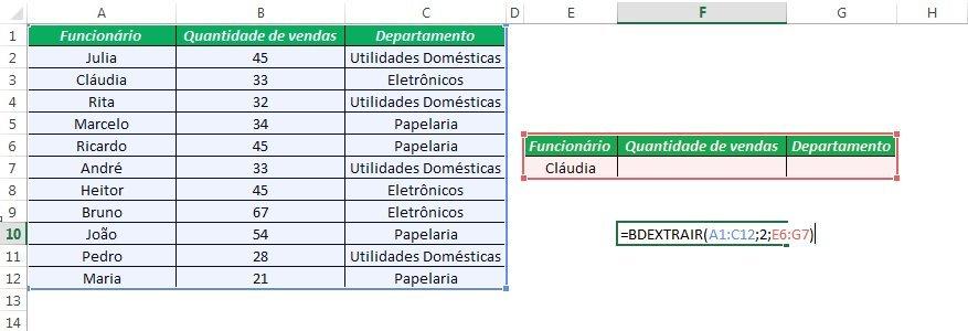 Banco Excel