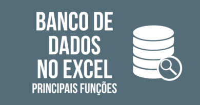 Principais Funções de Banco de Dados no Excel