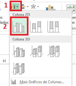 fazer gráfico no Excel
