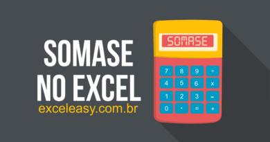 Função SOMASE no Excel - como usar - Exemplos