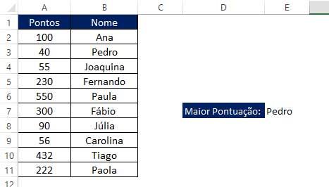 Funções-Aninhadas-Resultado-PROCV-MENOR no Excel