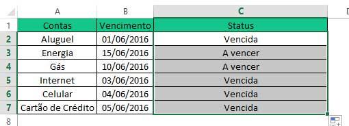 Como se usa Funções aninhadas no Excel