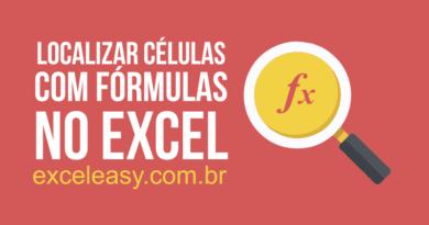 Aprenda Como Localizar Células com Fórmulas no Excel