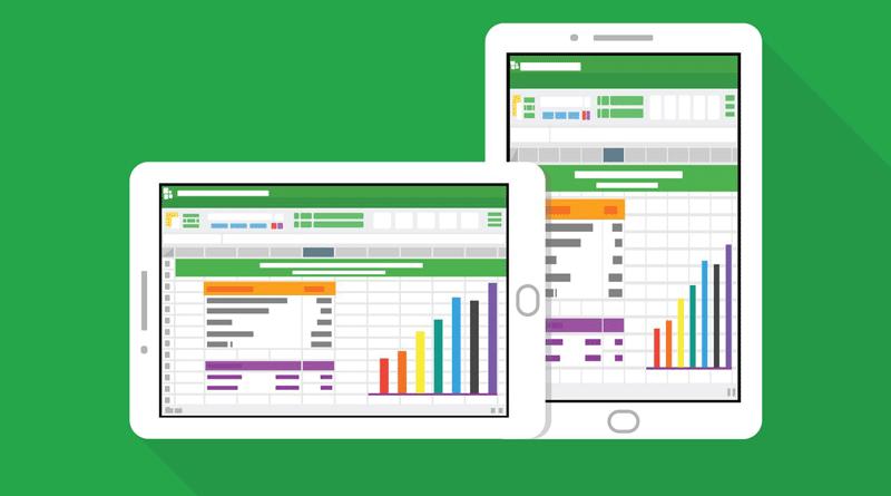 opções Excel Online