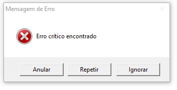 Caixa de Mensagem no Excel