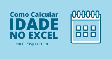 Veja Como calcular idade no Excel