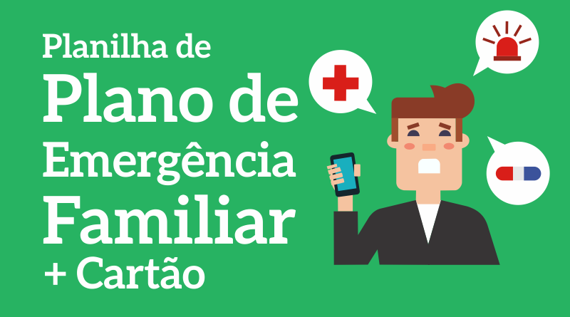 Download Planilha de emergência familiar no Excel