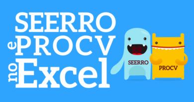 função procv e seerro no Excel