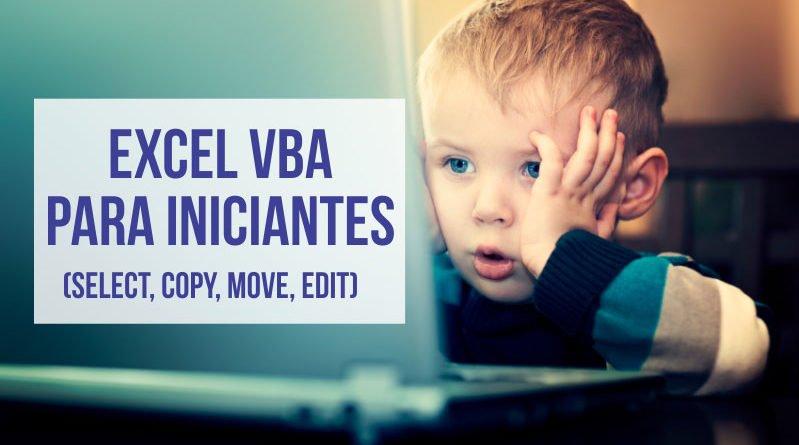 Trabalhando com Células e Intervalos no Excel VBA