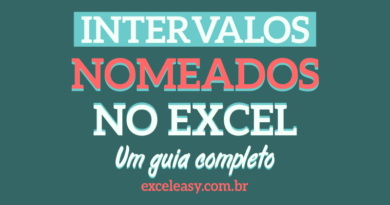 Intervalos nomeados no Excel - guia completo