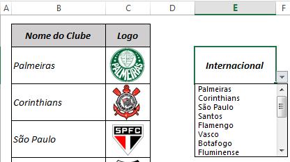 Busca por imagens no Excel