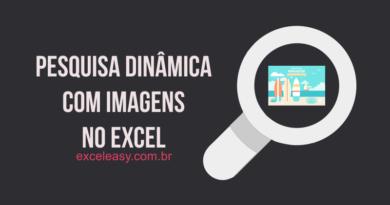 Como criar Pesquisa de imagens no Excel com lista suspensa