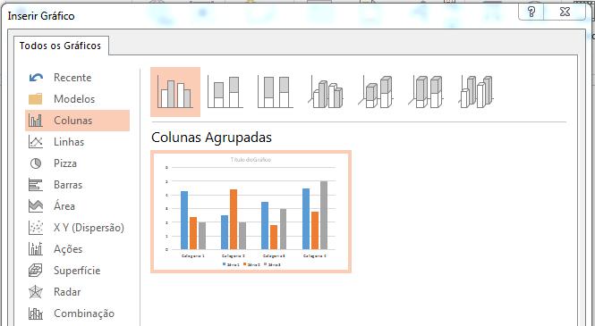Gráfico exportar do Excel para o PowerPoint