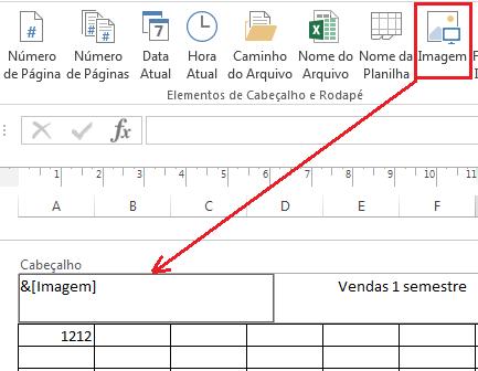 Inserir logo em cabeçalho no Excel