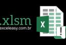 O que é um Arquivo XLSM