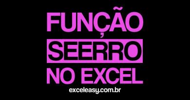 Função SEERRO no Excel como usar