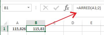 Como arredondar números no Excel