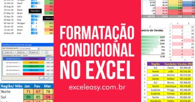 Formatação condicional no Excel - guia completo