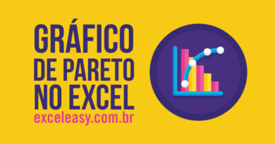 Como Criar gráfico de Pareto no Excel