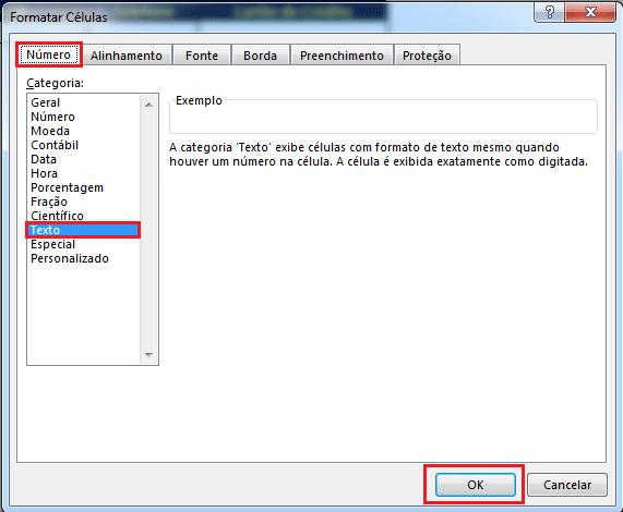 Inserir Cartão de Crédito no Excel