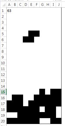 Jogos VBA - Tetris no Excel