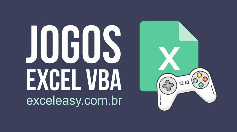 6 Jogos VBA no Excel