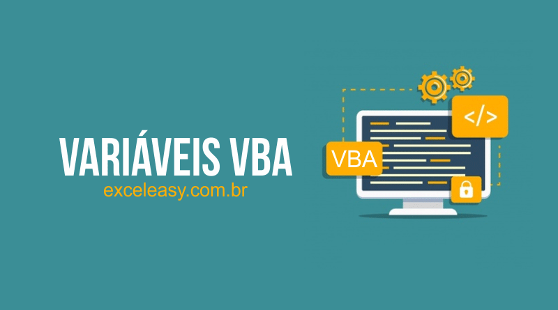 tipos de Variáveis no VBA Excel