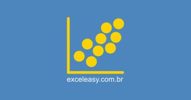 Gráfico de dispersão no Excel