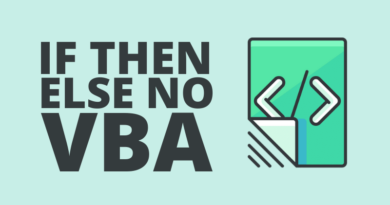 Como Usar If Then Else no VBA – Passo a Passo