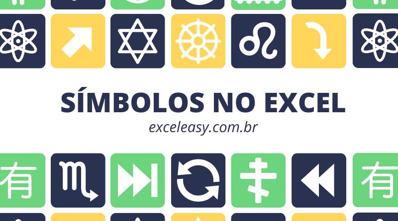 Veja Como Inserir símbolos no Excel