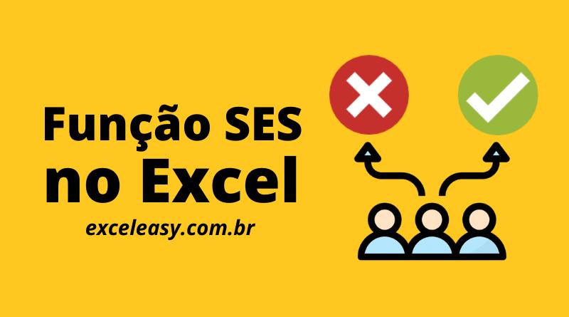 Como usar a função SES no Excel