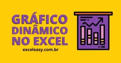 Como criar um Gráfico Dinâmico no Excel