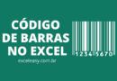 Como Criar Código de Barras no Excel - passo a passo