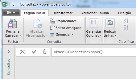 Consolidação de dados no Power Query