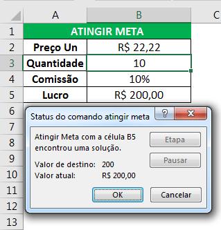 previsão no Excel