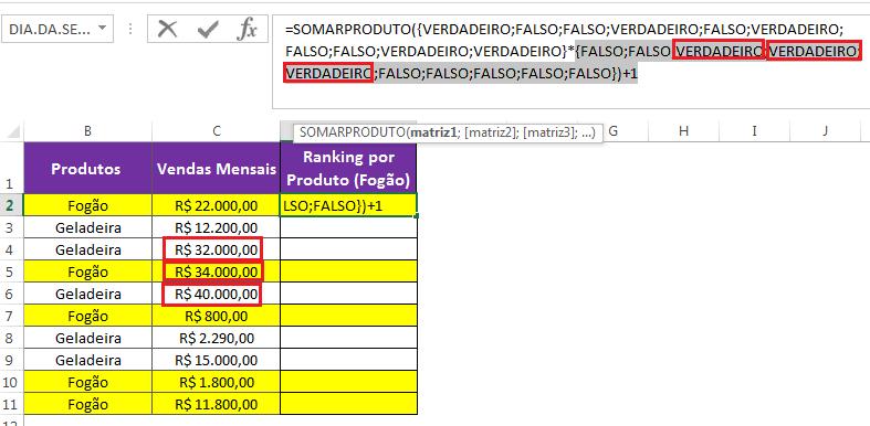 Como ordenar no Excel