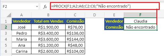 tratar erro de busca no Excel