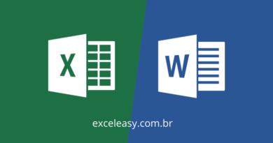 Como transferir Tabela do Excel para Word